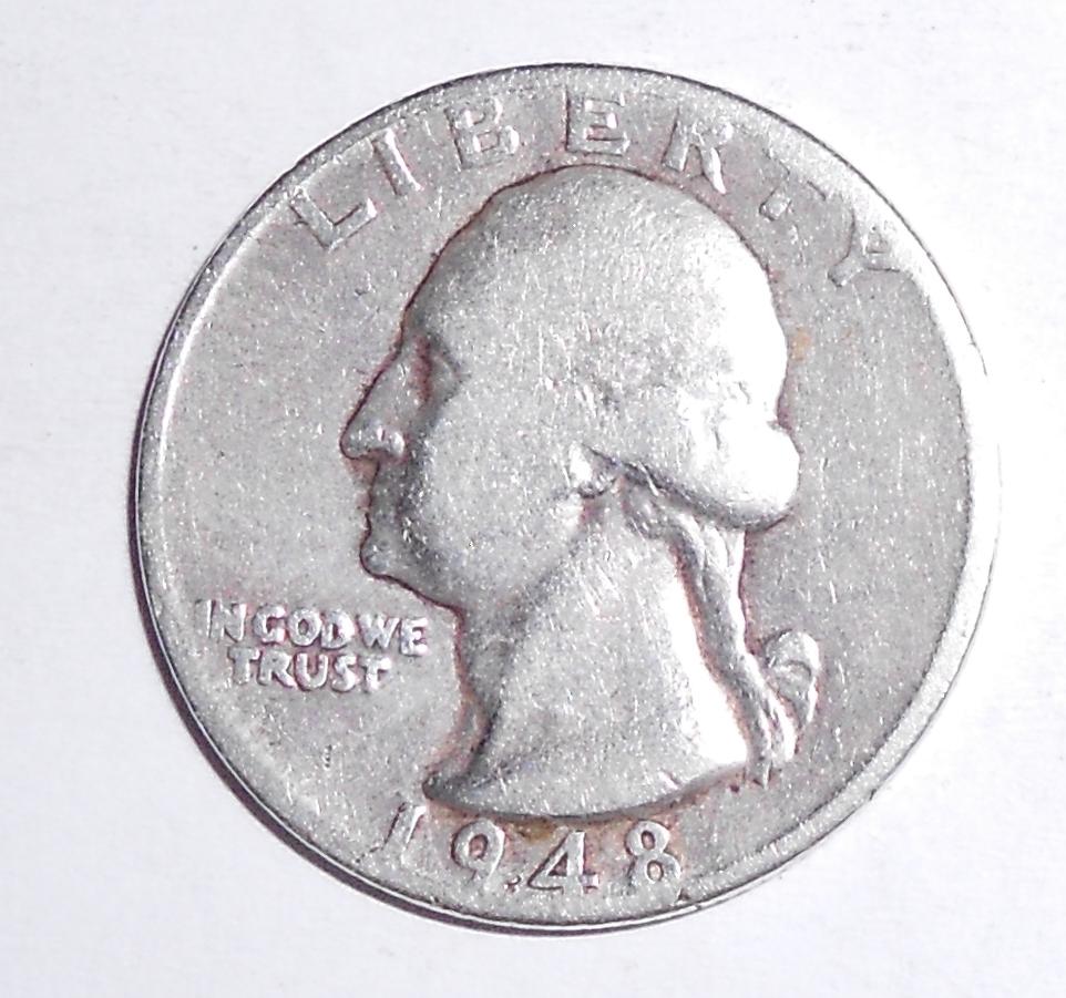 USA 1/4 Dolar 1948