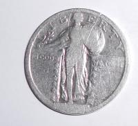 USA 1/4 Dolar Bez letopočtu