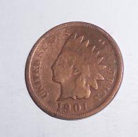 USA 1 Cent 1901