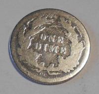 USA 1 Dime 1877