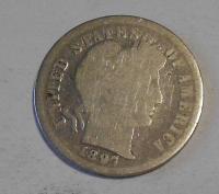 USA 1 Dime 1897