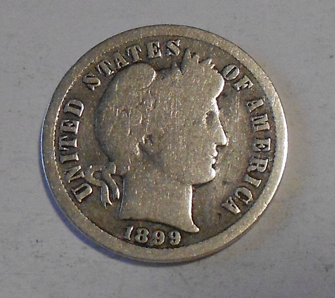 USA 1 Dime 1899