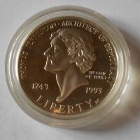 USA 1 Dolar 1743-1993