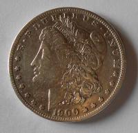 USA 1 Dolar 1900, stav