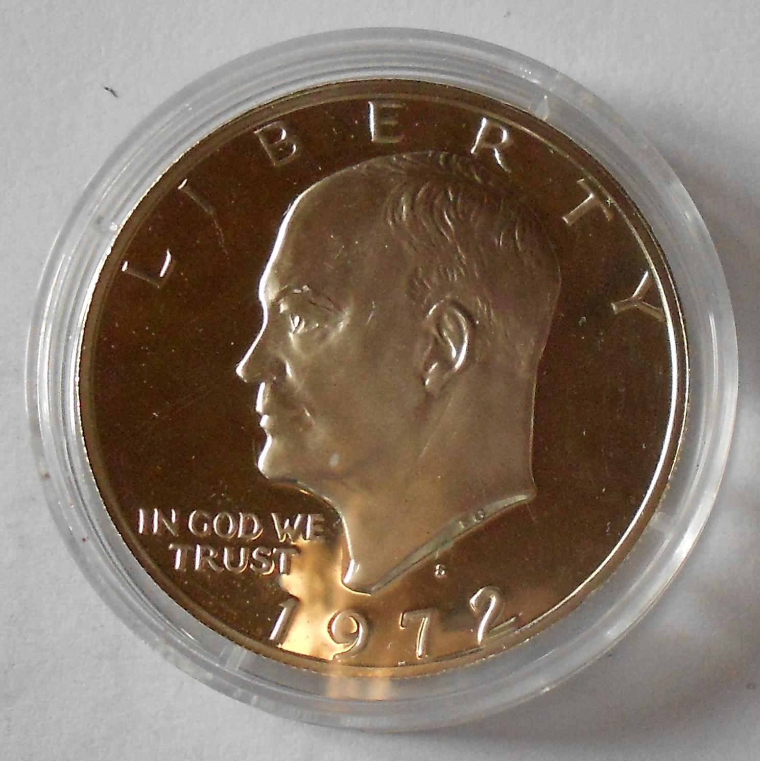 USA 1 Dolar 1972 Eisenhova