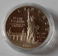 USA 1 Dolar 1986 Socha svobody