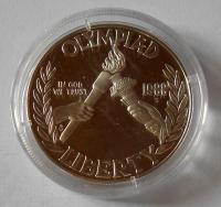USA 1 Dolar 1988 Pochodeň OH