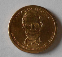 USA 1 Dolar Prezident Lincoln
