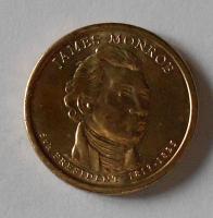 USA 1 Dolar Prezident Monroe