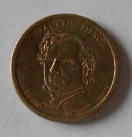 USA 1 Dolar Prezident Pierce