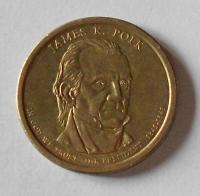 USA 1 Dolar Prezident Polk