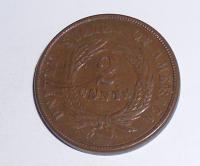 USA 2 Cent 1864