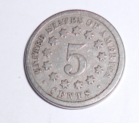 USA 5 Cent 1868