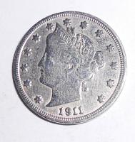 USA 5 Cent 1911