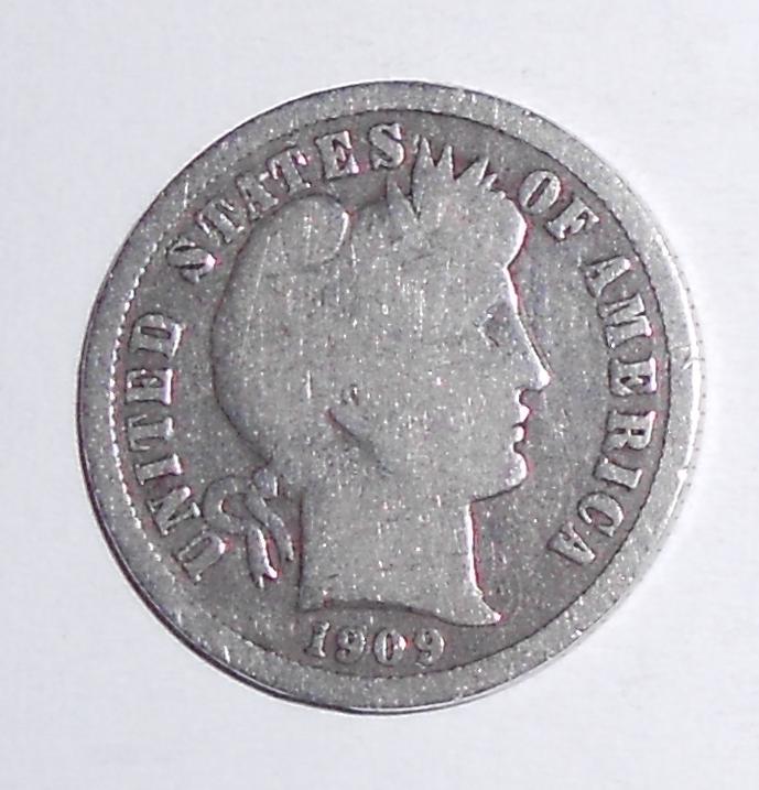 USA One Dime 1909