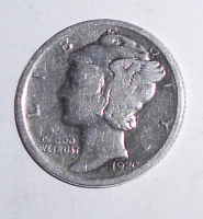 USA One Dime 1920