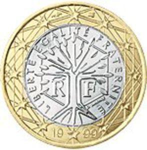 1 Euro(1999-Francie), stav 1/1