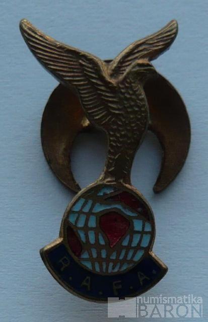 Anglie - RAFA - pilotní odznak