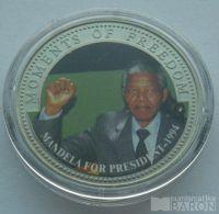 Liberie 10 Dollar 2001 Mandela