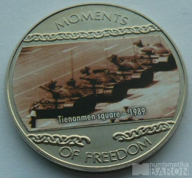 Liberie 10 Dollar 2004 Náměstí nebebezkého klidu