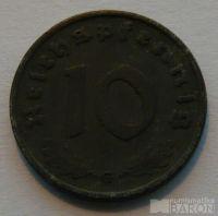 Německo 10 Pfenig 1940 G