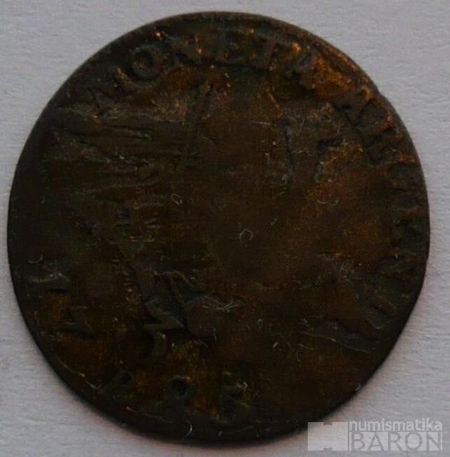 Prusko 3 Krejcar 1785 Fridrich