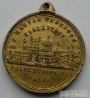 Uhry medaile 1885 korun.princ Rudolf