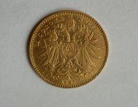 10 Koruna(1897-Au 900-3,4g-ražba bz), stav 1/1