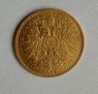 10 Koruna(1905-Au 900-3,4g-ražba bz), stav 1/1