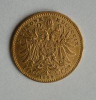 10 Koruna(1909-Au 900-3,4g-ražba bz), stav 1/1