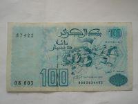100 Dinár, 1992, Alžírsko