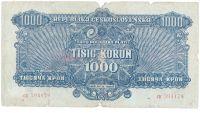 1000K/1944/, stav 4-5, série CK, NEPERFOROVANÁ