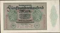 500.000Mark/1923/, stav UNC/0, série A nebo B