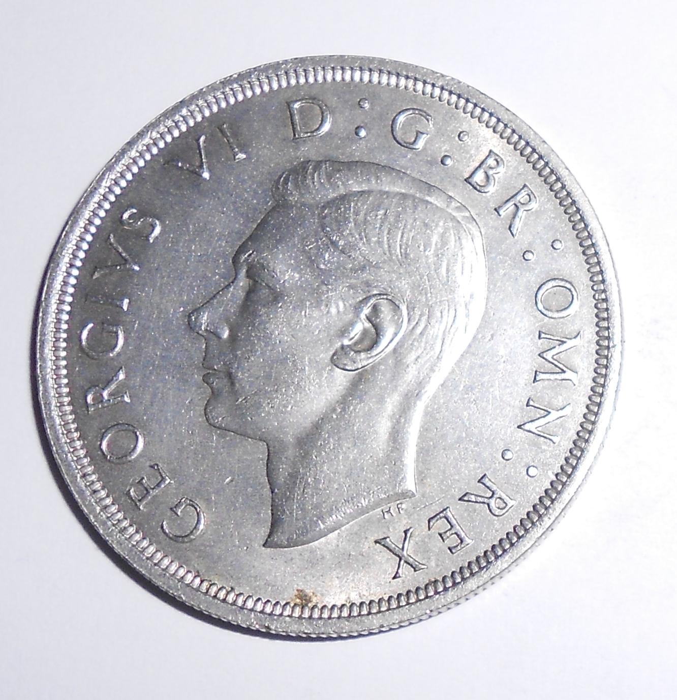 Anglie 1 Crowen 1937 Jiří VI.