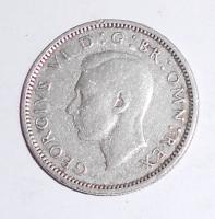 Anglie 6 Pence 1944
