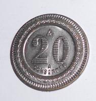 Francie 20 Centimes Spangel