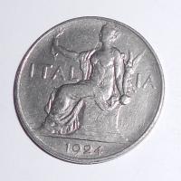 Itálie 1 Lira 1924