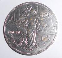 Itálie 5 Lira 1864-1911, kopie