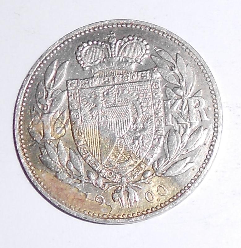 Liechtenstein 1 Koruna 1900