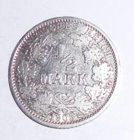 Německo 1/2 Marka 1905 A