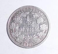Německo 1/2 Marka 1906 F