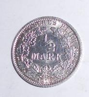 Německo 1/2 Marka 1916 A