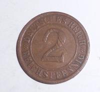 Německo 2 Pfenik 1924 A