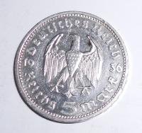 Německo 5 Marka 1936 E Hindengurg