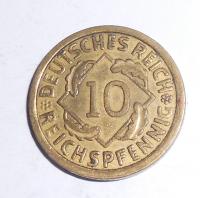 Německo Složenina ze 2 mincí 10 Pfenik + 2 Pfenik 1939
