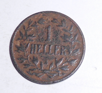 Německo Východní Afrika 1 Heller 1913 A