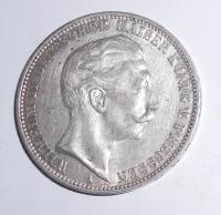 Prusko 3 Marka 1912 Vilém II.
