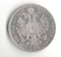 Rakousko 1 Fl 1867 A