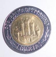 San Marino 500 Lira 1984
