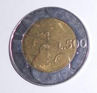 San Marino 500 Lira 1990